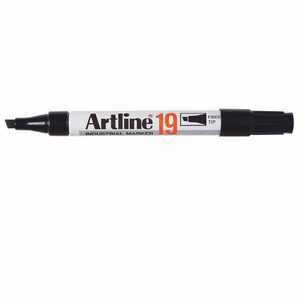 Artline 19 Permanent Industrial Marker Bullet 5Mm Black