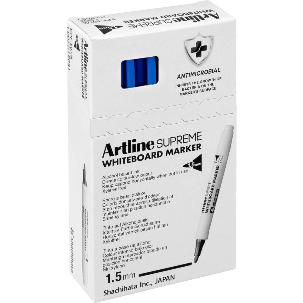ARTLINE SUPREME WHITEBOARD MKR Marker Blue 1.5mm Nib