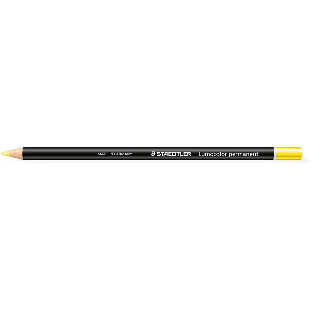 STAEDTLER GLASOCHROM MARKER Lumocolour Perm Yellow