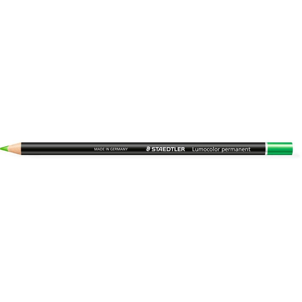 Staedtler 108 Lumocolour Glasochrom Permanent Pencil Green