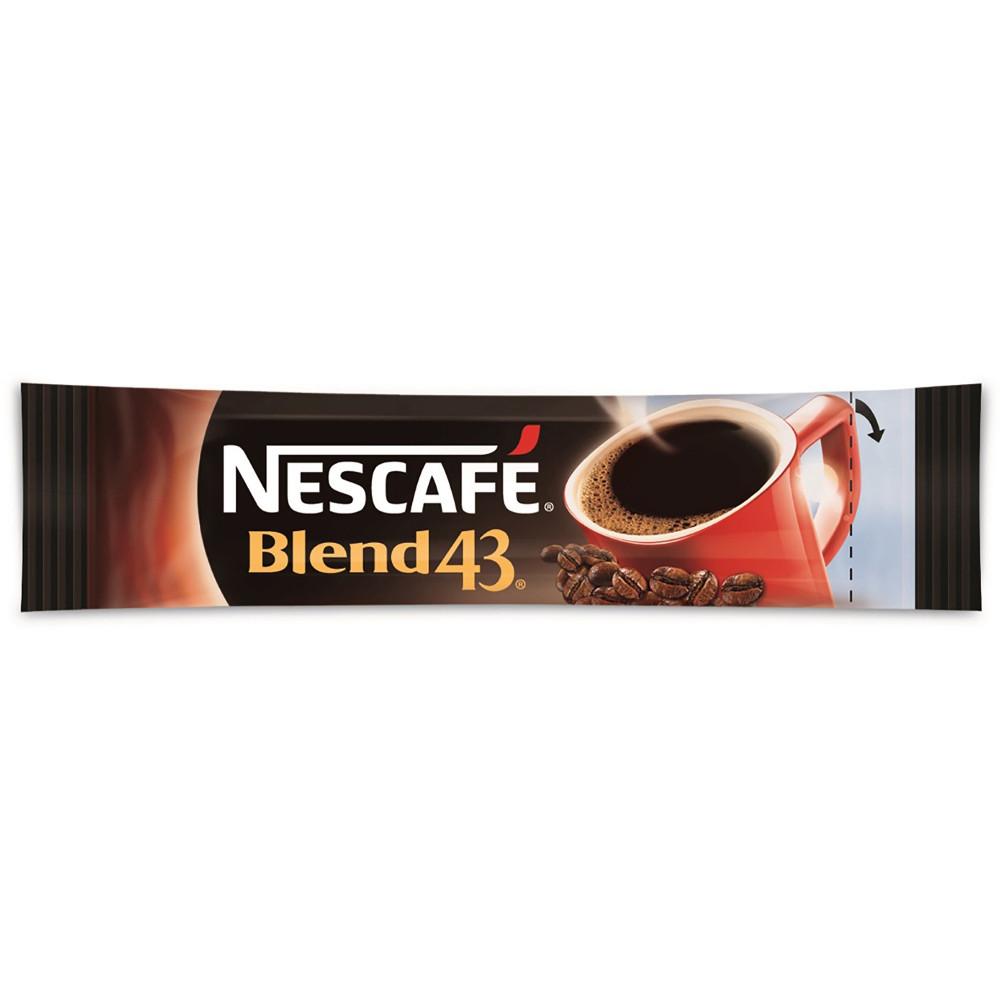 NESCAFE BLEND 43 COFFEE Stick Carton of 1000