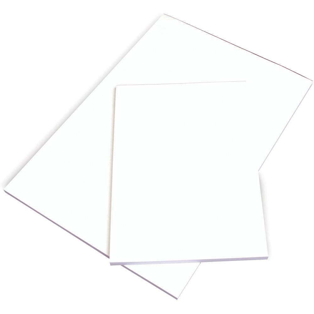 OFFICE PADS BANK A4 297x210mm Plain White