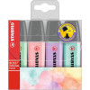 STABILO HIGHLIGHTER  Assorted Wallet Of 4