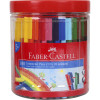 Faber-Castell Connector Marker Assorted Tub of 100