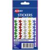 Avery Sticker Handipacks Small Stars Assorted B Pack