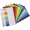 JASART COVER PAPER A4 125gsm Assorted pkt 500