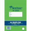 Writer Graph Pad A4 10mm 50 Sheets