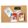 QUARTET CORK BULLETIN BOARD Wooden Frame 900x600mm