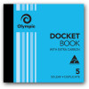 Olympic 5 Carbon Book Duplicate 120x125mm 50 Dockets