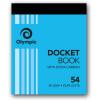 Olympic 54 Carbon Book Duplicate 100x125mm Docket 50 Leaf