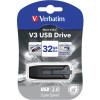 VERBATIM STORE N GO Version 3 V3 Flash / USB Drive 32gb Grey