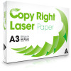 COPY RIGHT LASER PAPER A3 White Copy Paper - 80gsm Ream of 500