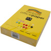 RAINBOW OFFICE PAPER A4 80GSM Yellow Ream of 500