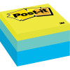 POST-IT 2056-RC NOTES 76x76mm Blue Wave 400 Sheets