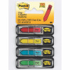 POST-IT 684-SH FLAGS Sign Here 12x43 Red Blue Yellow Green Pack of 120