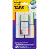 POST IT DURABLE INDEX TABS 686-VAD1 50mm, 25mm White & Colour Stripe Pack of 7