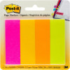 Post-It 671-4AF Page Markers 22.2x76mm 4 Neon Pads Pack of 200