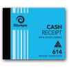 Olympic 614 Carbon Book Duplicate 100x125mm Cash Receipt 100 Leaf