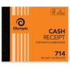 Olympic 714 Carbonless Book Duplicate 125x100mm Cash Receipt 50 Leaf