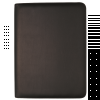 DEBDEN PORTFOLIO PLUS COMPNDM Week 2 View Diary PU Cover Blk