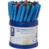 STAEDTLER STICK 430 PEN Ballpoint Medium - Cup of 50