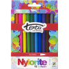 TEXTA NYLORITE MARKERS Assorted Wallet of 12