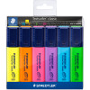 STAEDTLER CLASSIC HIGHLIGHTER Textsurfer Assorted Wallet 6