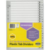 MARBIG BLACK & WHITE DIVIDERS A4 A-Z Reinf Tab Board Includes 26 Tabs