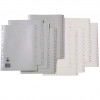 MARBIG NUMERICAL INDICES A4 PP 1-54 Grey Includes 54 Tabs