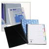 MARBIG DISPLAY BOOK DIVIDERS A4 PP 5 TAB Assorted Pack of 5