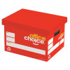 OFFICE CHOICE ARCHIVE BOX 305Wx260Hx400L also comes in cartons of 20