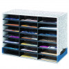 FELLOWES LITERATURE SORTER 21 Comp.730X510X300mm Grey