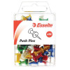 ESSELTE PINS PUSH 8x20mm Assorted Pack of 50