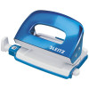 LEITZ NEXXT SERIES HOLE PUNCH WOW 2 Hole 30 Sheet Blue Metal