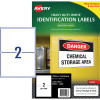 AVERY L7068 DURABLE LABEL Laser 2/Sht 199.6x143.5mm Wht Pack of 50