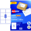 AVERY INTERNET SHIPPING LABELS L7165 8L/P/Sht 99.1x67.7mm Pack of 80