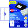 AVERY INTERNET SHIPPING LABELS L7070 1L/P/Sht 99.1x67mm Pack of 80