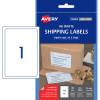 AVERY A6 SHIPPING LABELS L7175 1L/P/Sht 105x148mm White Pack of 25