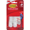 COMMAND 17002 SMALL HOOKS With Adhesive Pack of 2