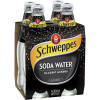 SCHWEPPES SODA WATER 300ml Glass - Pack of 4