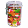 CONNOISSEUR STORAGE CANISTERS Round Acrylic, 1.75Ltr