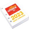 OFFICE CHOICE DESK CALENDAR Refills Side Opening 100x75mm