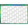 WRITERAZE RECYCLD WALL PLANNER 11880 500x700mm Year/View