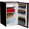 NERO BAR FRIDGE & FREEZER Stainless Steel 125 Litre