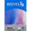 REEVES WATER COLOUR PAD A4 Medium Texture