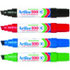 ARTLINE 100 PERMANENT MARKERS Assorted Pack of 6
