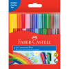 Faber-Castell Connector Pen Marker Assorted Pack of 12