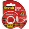 SCOTCH 198 TAPE DISPENSER Super Hold Clear 19mm X 16.5m