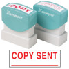 XSTAMPER -1 COLOUR -TITLES A-C 1548 Copy Sent Red