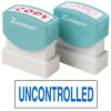 XSTAMPER -1 COLOUR -TITLES R-Z 1568 Uncontrolled Blue